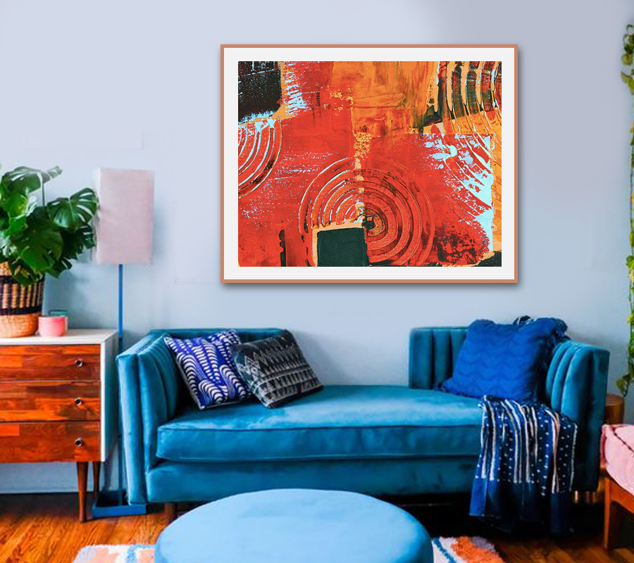 Style Your Living Room Decor With These Creative Abstract Art Ideas Goingdesi Blog